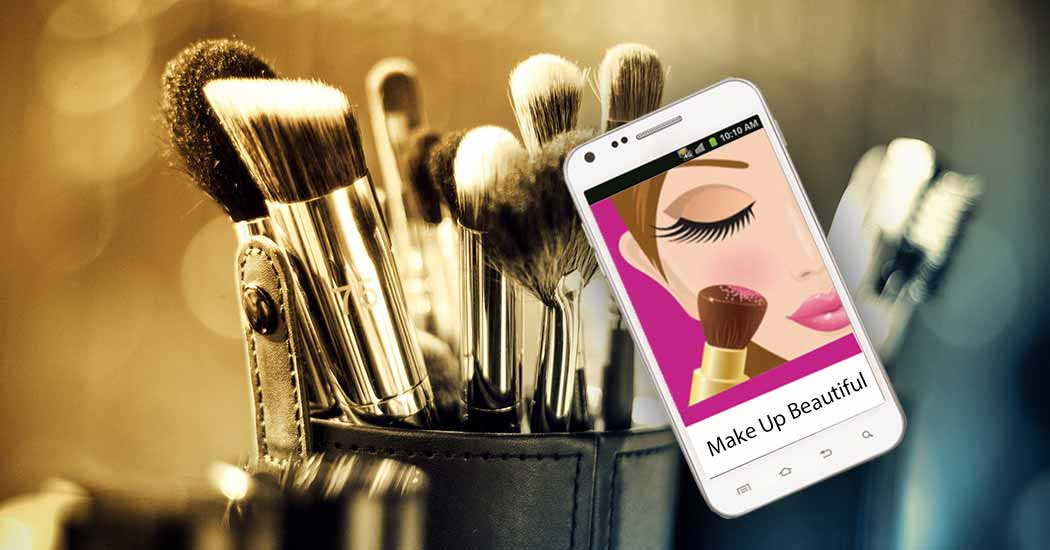 Make Up Beautiful - Mobile App For Beauty | Popup Technologies